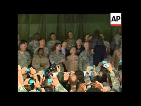 Obama visit, meets Karzai, addresses troops