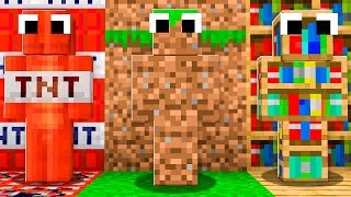 EXTREME MINECRAFT CAMO SKIN TROLLING! (Try Not to Laugh)