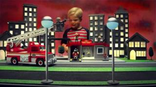 Playmobil School Day and Fire Rescue