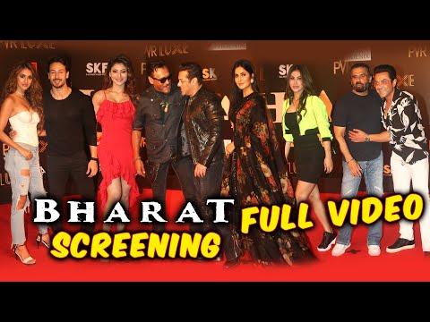 BHARAT Movie Grand Premiere | FULL VIDEO | Salman Khan, Sunil Grover, Disha Patani