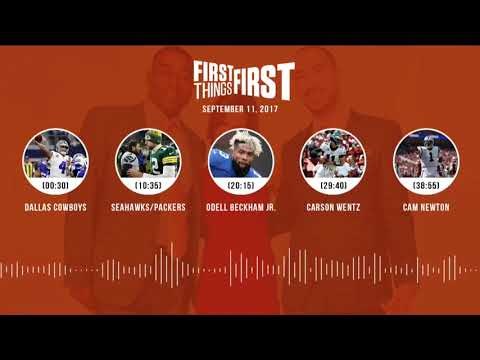 First Things First audio podcast(9.11.17) Cris Carter, Nick Wright, Jenna Wolfe | FIRST THINGS FIRST