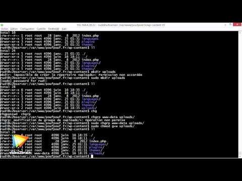 Tutoriel sur l'administration d'un serveur Linux : Améliorer la sécurité   video2brain.com