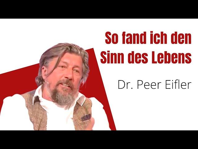 Dr. Peer Eifler fand den Sinn des Lebens | Die Barbara Karlich Show | 21. Oktober 2019