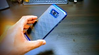 Clayco [Helios Series] Hybrid Protective Case for Samsung Galaxy S8+