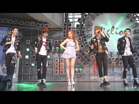 150621 HIGH4 - Baby Boy & 봄 사랑 벚꽃 말고 & Say Yes & I'm yours (밀리오레) 직캠 fancam by zam Mp3