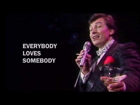 Karel Gott as Dean Martin - Everybody Loves Somebody (Sometime) live 1986