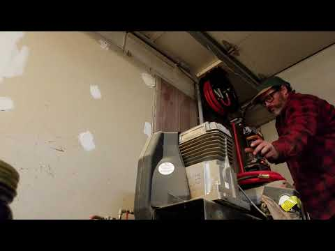 Harbor freight hose reel repair. And thoughts on the fly