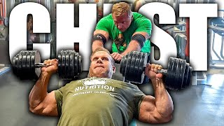 High volume chest workout with Mr. Olympia Jay Cutler