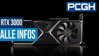 Nvidia Geforce RTX 3000 | Alle Infos zur RTX 3070, 3080 und 3090 | Custom-Designs zusammengefasst