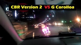 CBR Version 2  VS  G-Corolla Racing 2017