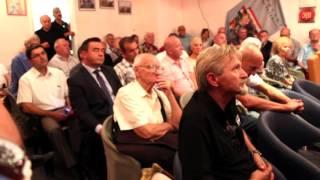 S hrvatskim generalima i veteranima Domovinskog rata (25.8.2016.)