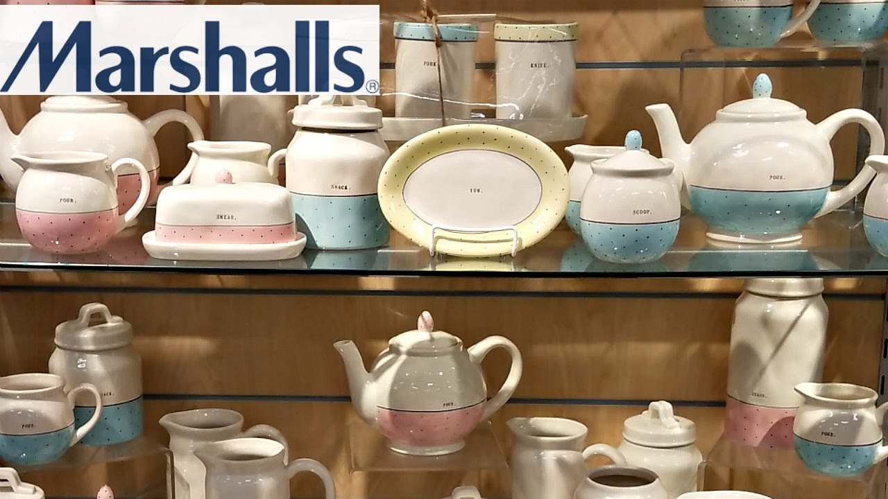 Marshalls Shop With Me Rae Dunn Finds Kitchenware Decor Ideas 2018