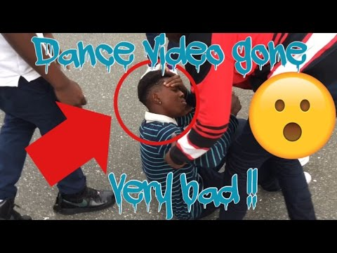 Dance video gone very bad!!