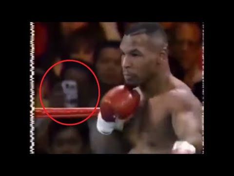 Unexplained Time Traveller Seen at Mike Tyson Fight!!!