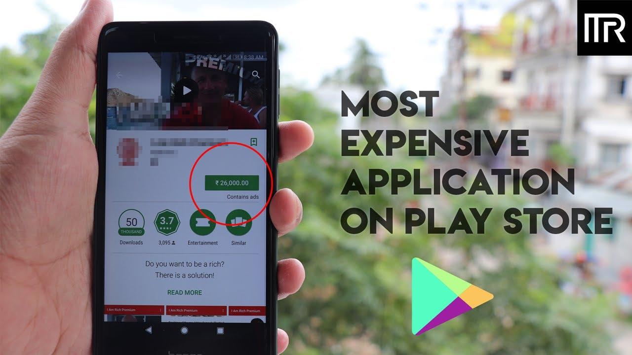the most expensive app im rich apk