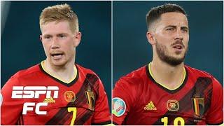 Will Kevin De Bruyne and Eden Hazard play for Belgium vs Italy Euro 2020 ESPN FC