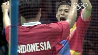 Repeat youtube video 20 years of Badminton in the Olympic Games - 1992 to 2012