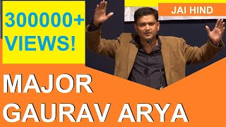 Major Gaurav Arya at the Indo-Pak Relations Workshop, Pune (Full Speech)