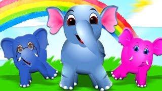 बालगीत | हिंदी कविताएं  | बच्चों के लिए गाने | Nursery Rhymes For Kids | Kids Tv India