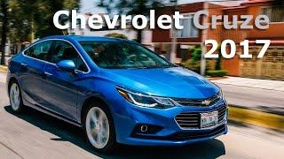 Chevrolet Cruze 2017 más moderno y mejor equipado