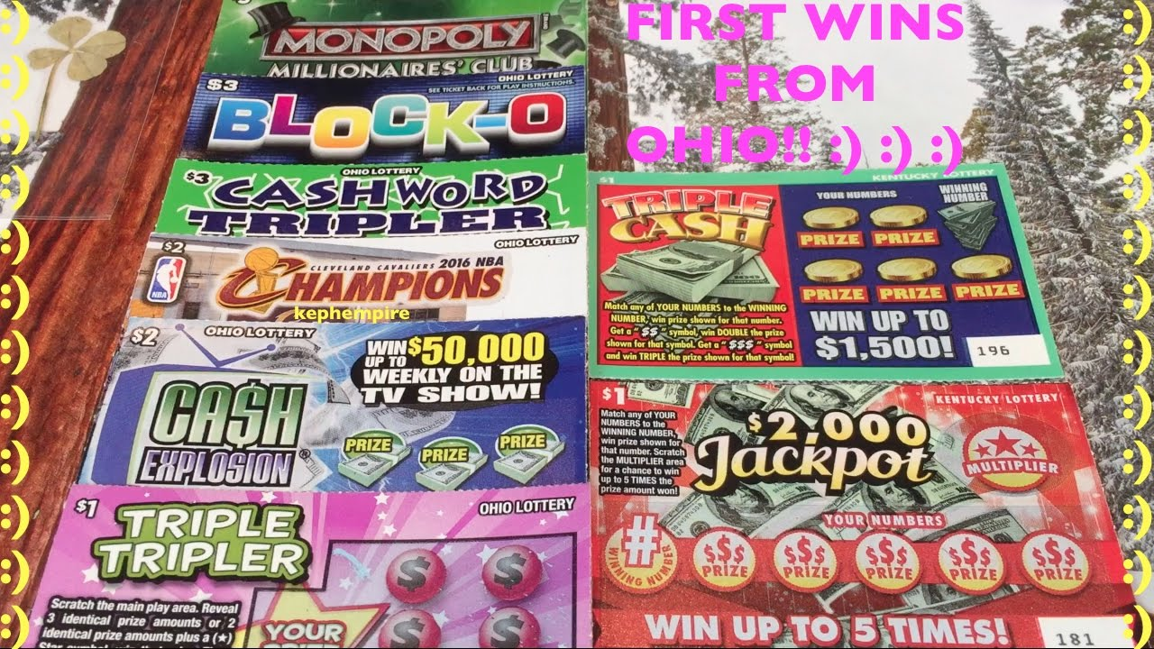 Repeat FIRST EVER KENTUCKY AND OHIO LOTTERY SCRATCHERS!!! by Keph