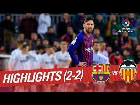 Highlights FC Barcelona vs Valencia CF (2-2) Mp3
