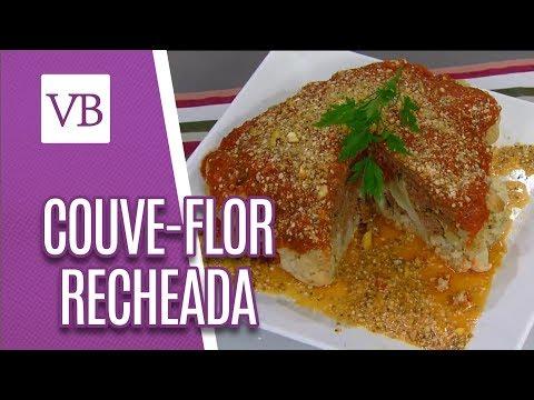 Couve-Flor Recheada e Gratinada Fit - Você Bonita (19/06/18)