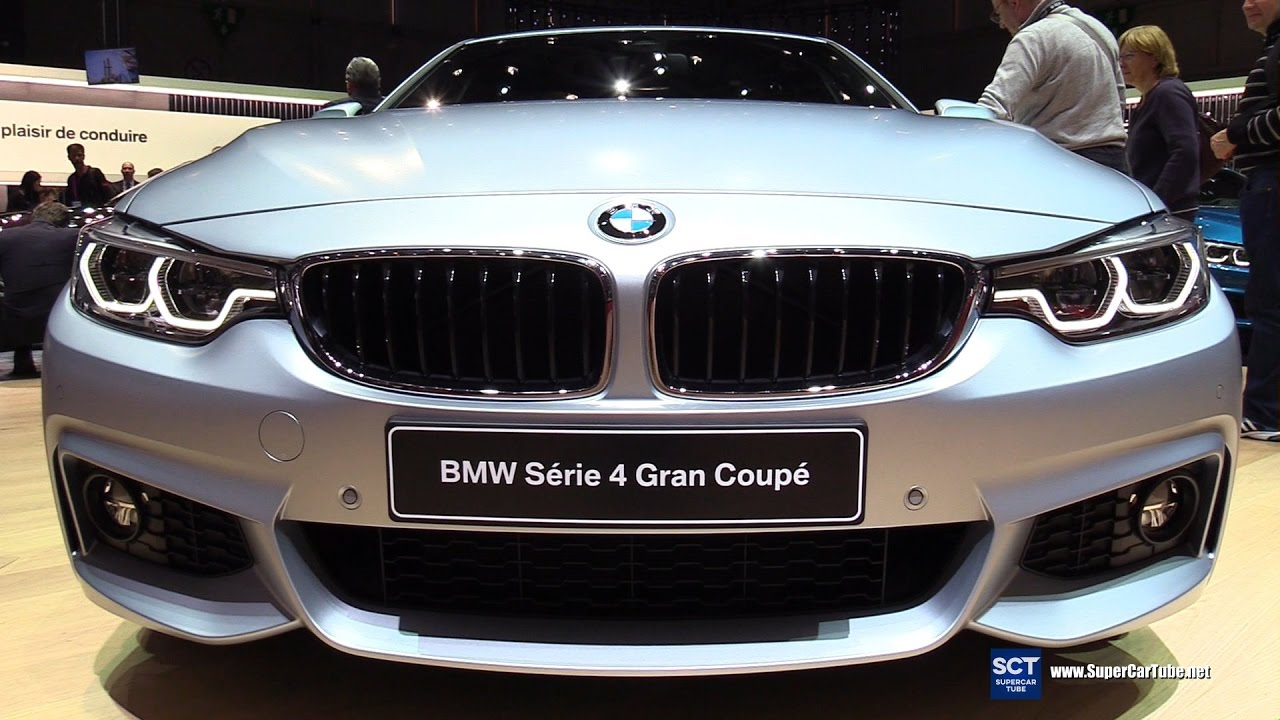 2017 bmw 4 series 440i gran coupe facelift exterior interior walkaround 2017 geneva motor. Black Bedroom Furniture Sets. Home Design Ideas