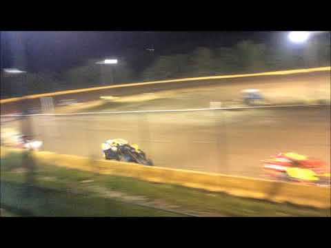 "ANTHONY ""CHOPS"" CHROBAK STAGE 1 MODIFIED FEATURE WIN AT HAMLIN SPEEDWAY 8-5-18"