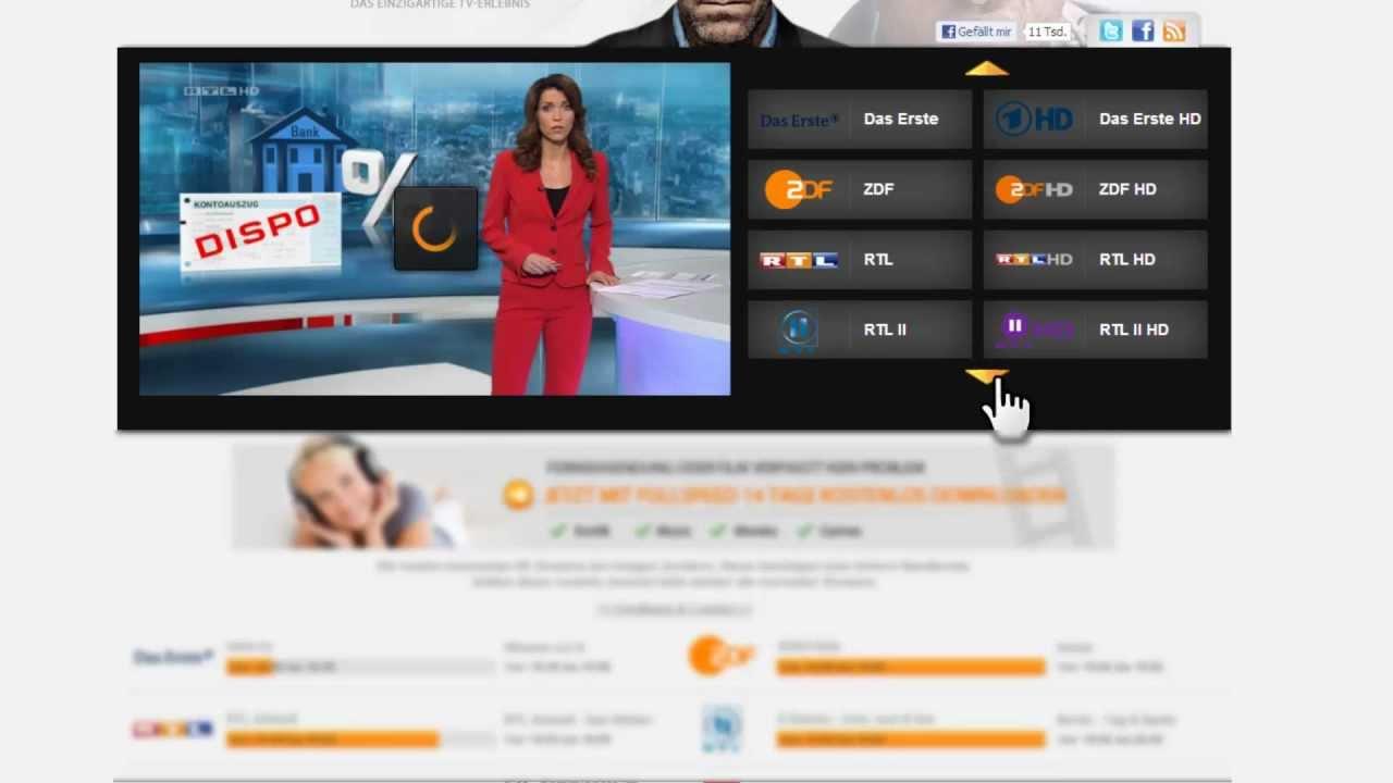Online Fernsehen Stream Kostenlos