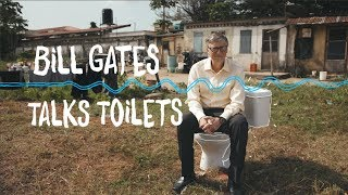 Bill Gates talks toilets