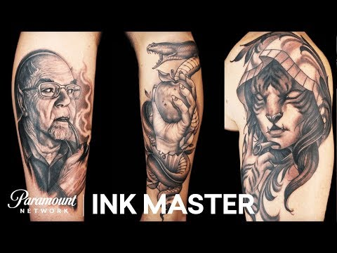 Face Off Preview: Masters Freehand   Ink Master: Return of the Masters (Season 10)