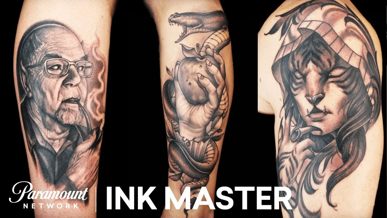 3d7e82336fc4c Freehanded Freestyle: The Master's Tattoo Face Off | Ink Master ...