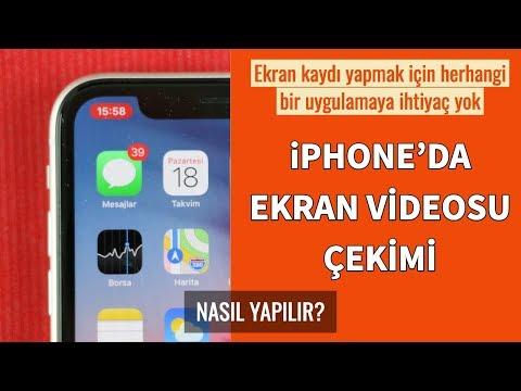 IPhone'da Ekran Videosu Nasıl çekilir?