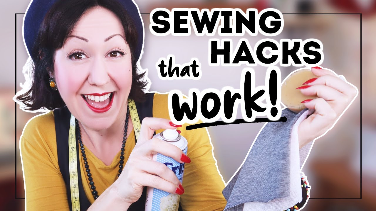 5 sewing 'hacks' that will ACTUALLY make your sewing life better!