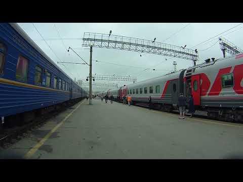 Россия из окна поезда Кемерово Москва серия 18