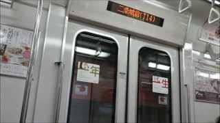 京都市営地下鉄 東西線 二条城前-烏丸御池間 50系(5211)六地蔵行き デ...