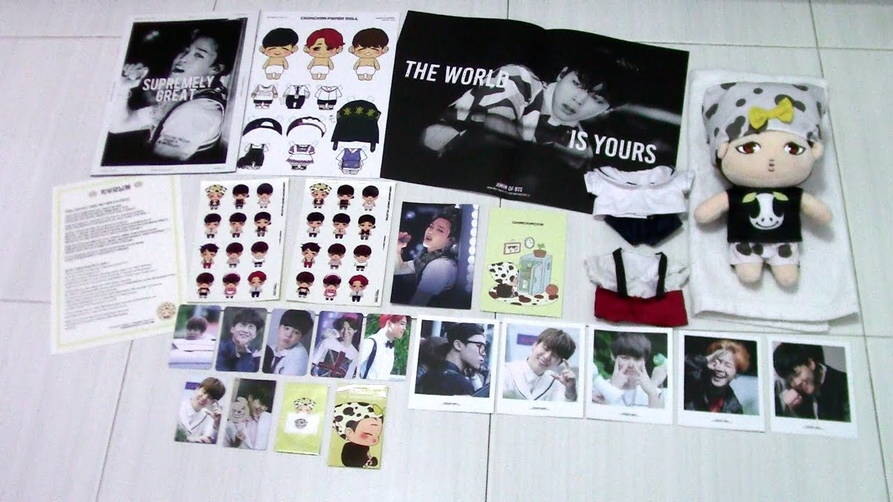 [Unboxing] Supremely Great PT 1 by MINingful moment (BTS Jimin Fansite  Goods)