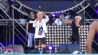 [HD fancam] 130615 UMF KOREA SHINee - Lucifer + Dream girl + Beautiful + ending