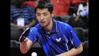 Zhang Jike vs Yan An - China Warm Up