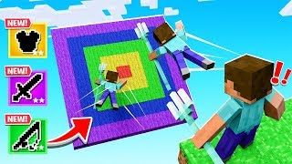 Use Your TRIDENT As DARTS For LOOT! (Minecraft)
