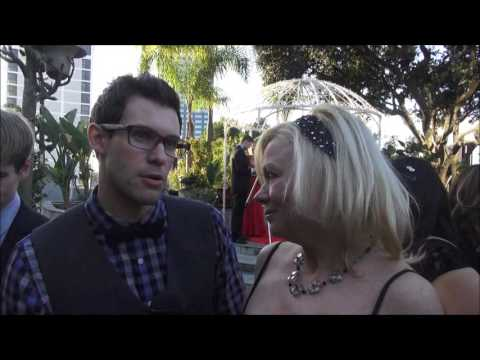 Vampire Diaries actor  Zane Stephens Tony shares a passion at Movieguide Awards!
