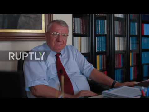 Serbia: Radical Party's presidential candidate Seselj wants Russian bases in Serbia