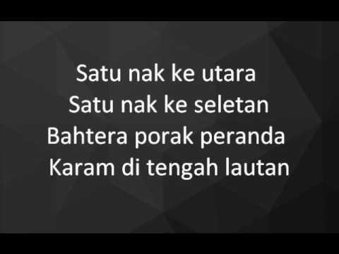 Dikir Temasek - Satu Bahtera Dua Nakhoda lyrics