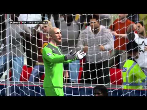 Danny Welbeck volleyed goal Vs Newcastle United F.C. #FIFA14