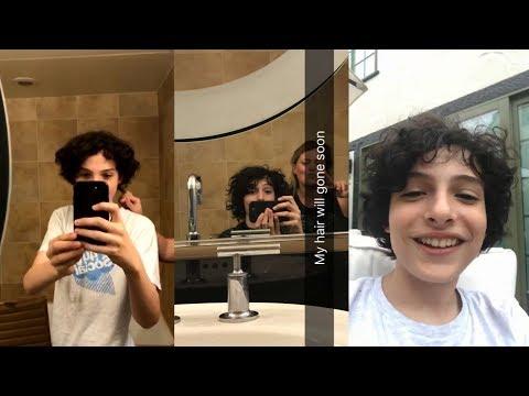 Finn Wolfhard | Snapchat Story | 25 August 2017 thumbnail