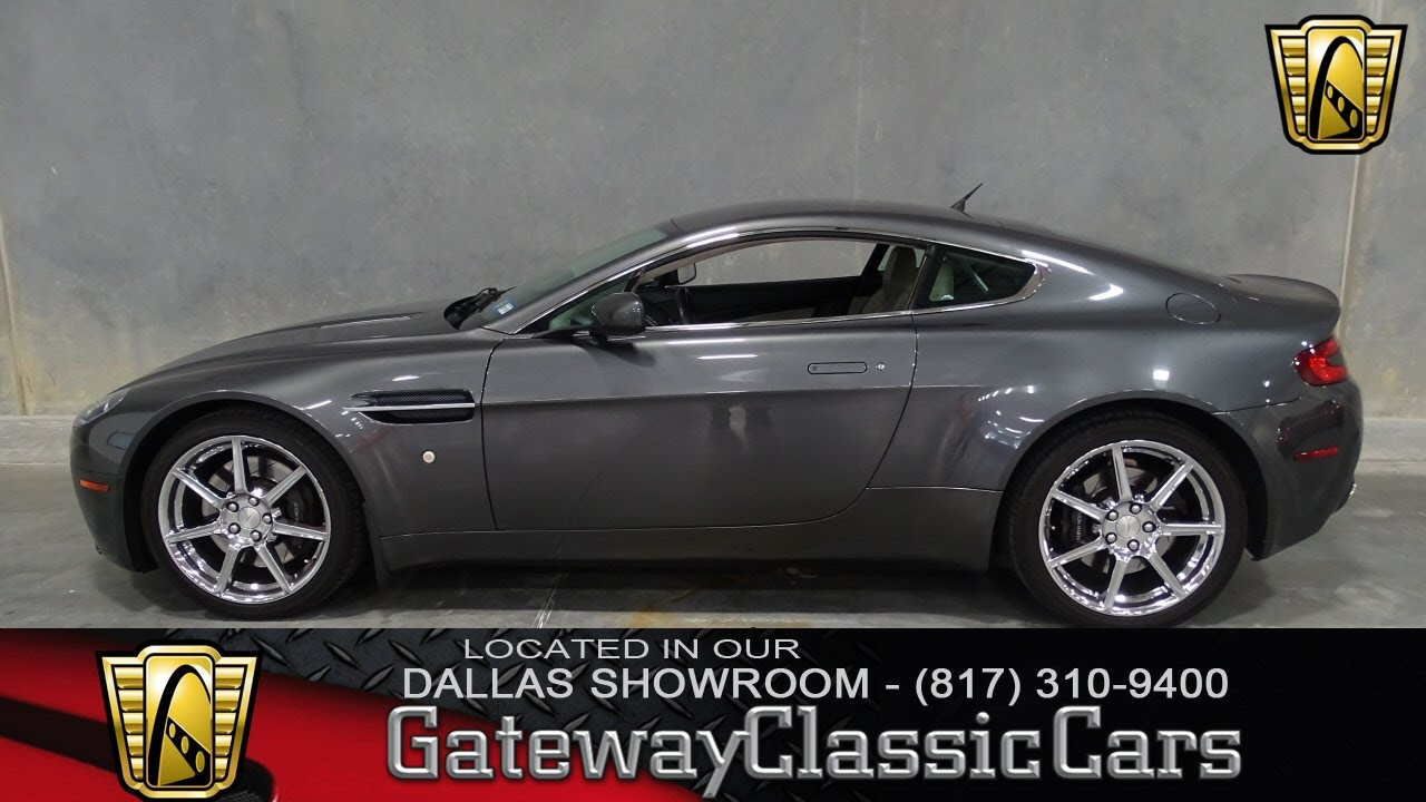 Aston Martin V Vantage Stock Gateway Classic Cars Of - 2007 aston martin v8 vantage