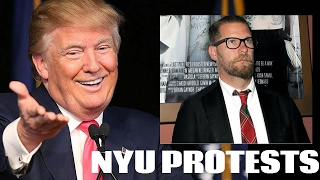 NYU Protest Gives Another Conservative Trump Supporter Free Publicity