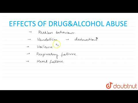 EFFECTS OF DRUG/ALCOHOL ABUSE