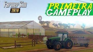 Farmer Sim 2018 - Apresentando o jogo (Novo Jogo para Celular de Fazenda)
